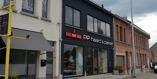 pp haard en parket showroom emblem lier