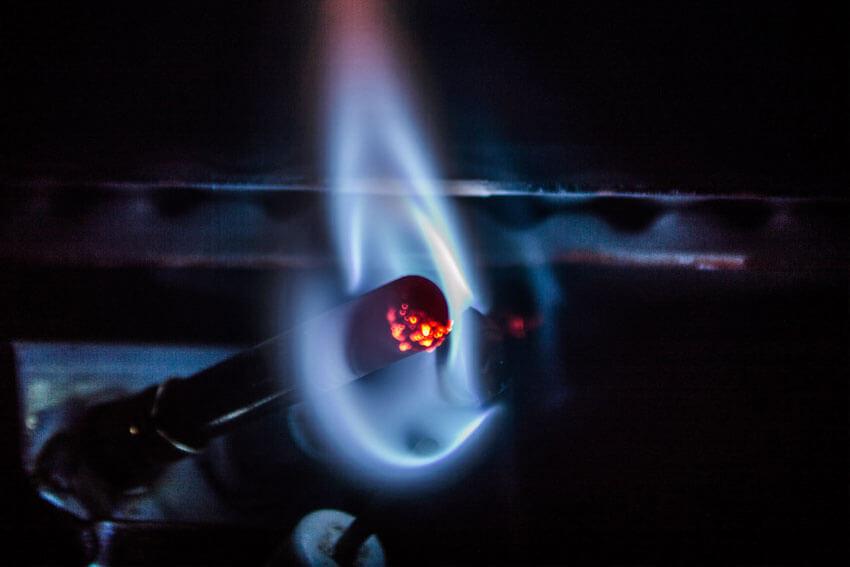 waakvlam of elektrische ionisatiepen