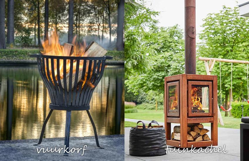 voordelen terraskachel vs vuurkorf